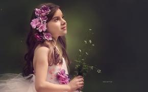 Картинка взгляд, портрет, девочка