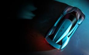 Картинка car, supercar, design, electric, automobile, chinese, technology, electric car, Super car, Nio EP9, automobile chivnes, …