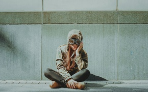 Картинка girl, sad, loneliness, melancholy