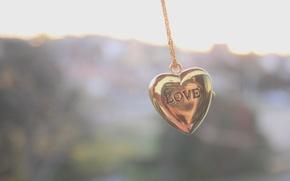 Картинка фон, настроение, обои, сердце, цепь, кулон, украшение, цепочка, аксессуар, кулончик, сердецчко