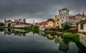 Картинка здания, дома, Чехия, Jindřichův Hradec, Йиндржихув-Градец