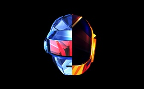 Картинка Art, Music, Daft Punk, Thomas Bangalter, Wallpaper, Томас Бангальте, Minimalism, Guy-Manuel de Homem Christo, Ги-Мануэл …