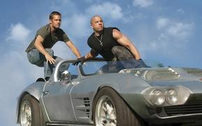 Обои 2011, Vin Diesel, Paul Walker, fast five