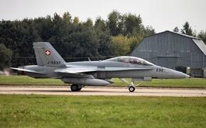 Картинка McDonnell Douglas F/A-18 Hornet, MAKS 2013, МАКС 2013, Военно воздушные силы Швейцарии