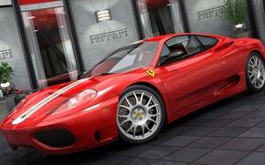 Картинка графика, Ferrari, Stradale, Challenge