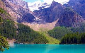 Обои banff national park, alberta, canada, канада, озеро
