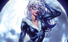 Картинка marvel, Marvel Comics, black cat, Чёрная кошка, Felicia Hardy