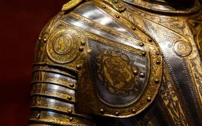 Картинка металл, узор, доспехи, рыцарь