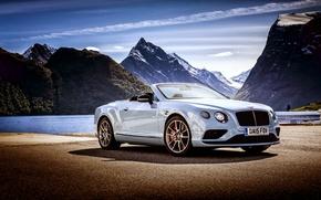 Картинка Bentley, Continental, кабриолет, бентли, Convertible, 2015