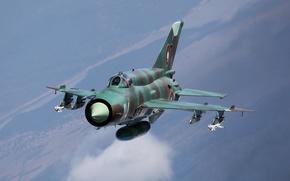 Картинка полет, истребитель, многоцелевой, МиГ-21