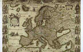 Картинка карта, europe, европа
