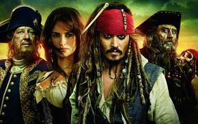 Обои актеры, movie, pirates of the caribbean on stranger tides