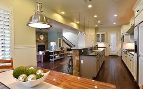 Картинка дизайн, стиль, интерьер, кухня, жилое пространство