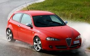 Картинка Red, Alfa, Romeo, 147, Alfa 147, Alfa Romeo cars, Alfa Romeo 147 Wallpaper, Alfa Romeo …