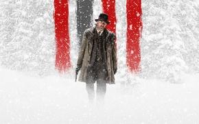 Картинка Nature, Blizzard, Gun, Wood, Winter, Snow, Grey, The, Little, Boy, Shooter, Hat, Fog, Man, Movie, ...