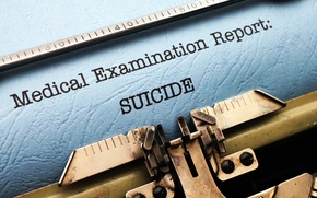 Картинка suicide, typewriter, reporting, report