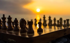 Картинка фон, игра, шахматы