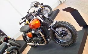 Картинка triumph, motorbike, t120, crambleur
