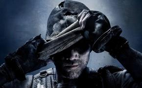 Картинка маска, солдат, перчатки, мужчина, боец, щетина, Treyarch, Infinity Ward, Call of Duty: Ghosts, Activision Publishing, …