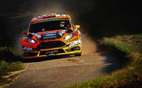 Картинка Ford, Форд, WRC, Fiesta, Фиеста, Фас, Martin Prokop