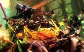 Картинка gears of war, halo, predator, fan art, Locust, covenant, truk