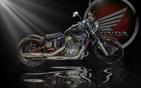 Обои байк, honda, мотоцикл