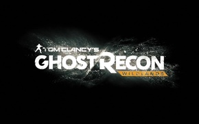 Картинка лого, ghost recon, tom clansy's, wildlandss