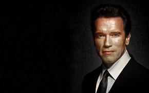 Картинка портрет, актёр, Arnold Schwarzenegger
