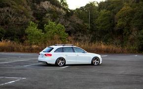 Картинка Audi, white, wheels, 2.0 T