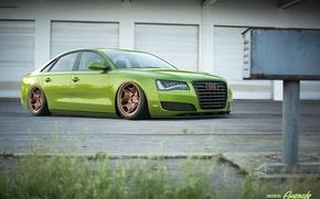 Картинка Audi, green, ауди, зеленая