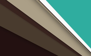 Картинка линии, зеленый, Android, коричневый, бежевый, material