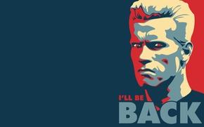 Картинка надпись, фраза, губернатор, Арнольд шварценеггер, i'll_be_back