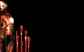 Картинка минимализм, постер, Iron Man