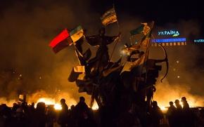 Обои Украина, майдан, свобода, Киев