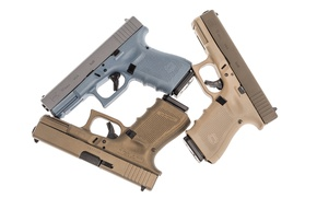 Обои стволы, пистолеты, Glock