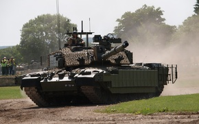 Картинка танк, бронетехника, военная техника, Challenger 1
