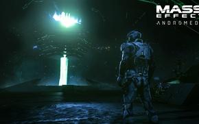 Картинка BioWare, Logo, Game, Electronic Arts, Mass Effect: Andromeda