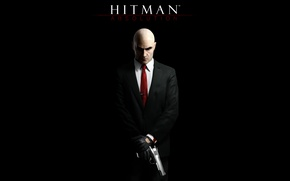 Обои silverballer, hitman absolution, hitman, хитман 5, hitman 5, absolution, хитман, пистолет