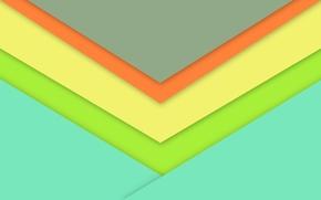 Обои линии, желтый, голубой, wallpaper, геометрия, material, desing, салотовый