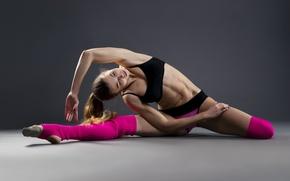 Картинка pose, female, workout, yoga, stretching