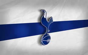 Картинка wallpaper, sport, football, Premier League, England, Tottenham Hotspur, 3D logo