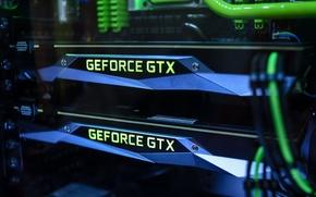 Картинка Nvidia, GeForce, Hi-Tech, Personal Computer, GTX 1080, Видеокарты