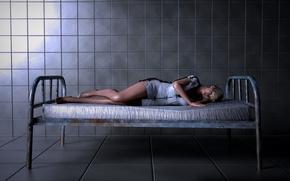 Картинка девушка, кровать, fanart, Resident Evil 6, Sherry Birkin, Biohazard 6