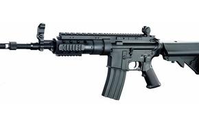 Картинка gun, weapon, rifle, retractable butt, A&K SPR NOD1, standard model, A&K, SPR NOD1