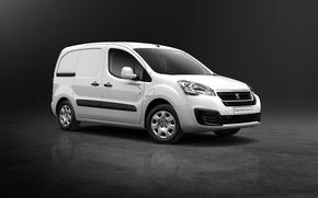 Обои Peugeot, пежо, 2015, Van Electric, Partner