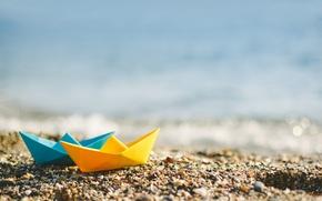 Картинка пляж, лето, природа, боке
