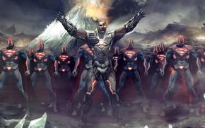 Картинка армия, киборг, DC Comics, Комиксы, Киборг-Супермен