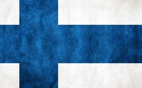Картинка обои, Флаг, Финляндия, Флаг Финляндии