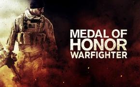 Картинка оружие, солдат, MoH, warfighter