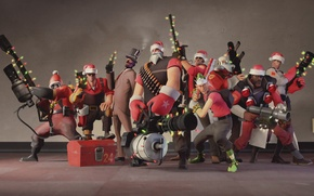 Картинка pyro, soldier, spy, medic, team fortress 2, tf2, sniper, heavy, engineer, scout, demoman